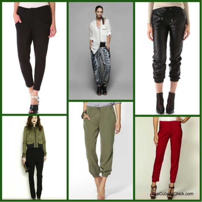 Slouchy Pants Trend
