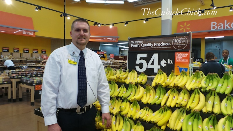 Walmart Store Manager Jason Justice