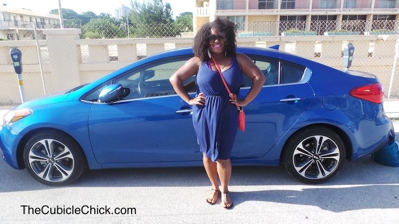 2014 Kia Forte EX Blue