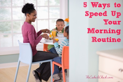 5 Ways to Speed Up Your Morning Routine