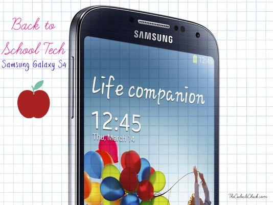 Back to School Tech Samsung Galaxy S4