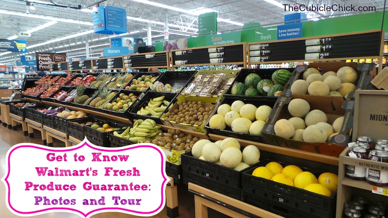 Get to Know Walmart's Fresh Produce Guarantee- Photos and Tour