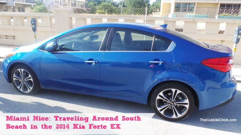 Miami Nice Traveling Around South Beach in the 2014 Kia Forte EX