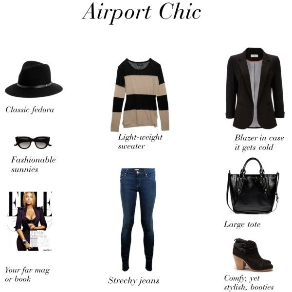 Airport Chic: 5 Must Have Pieces for Fab Flight Travel