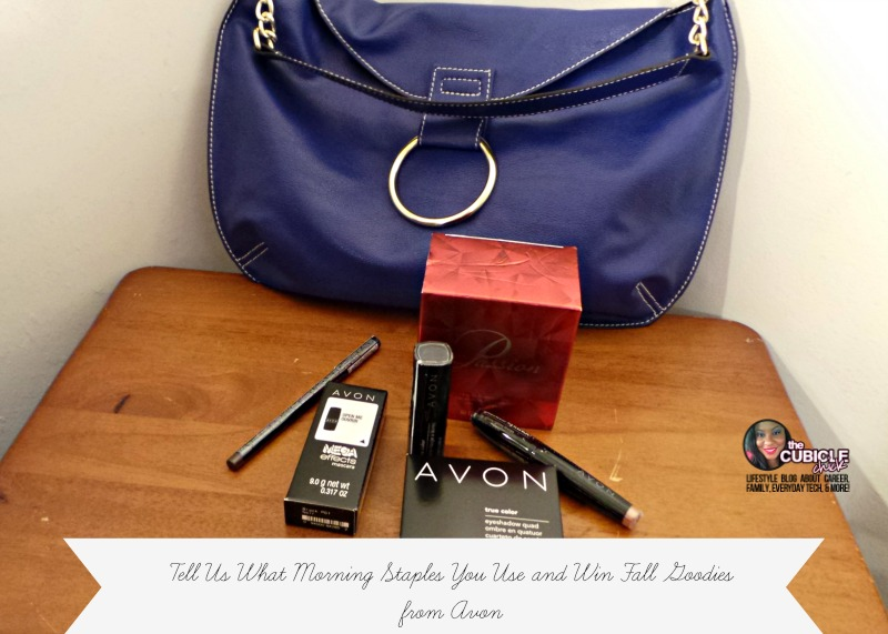 Giveaway Tell Us What Morning Staples You Use and Win Fall Goodies from AVON
