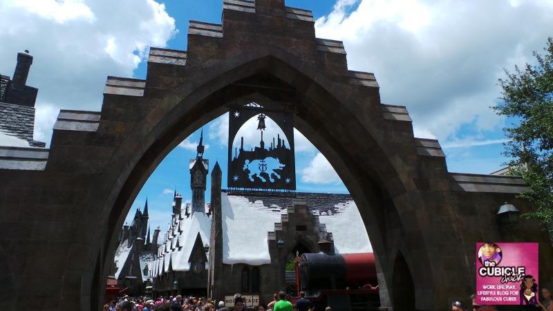 Hogsmeade Entrance Universal Studios Orlando