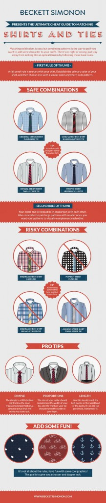Safe Combinations Tie and Shirt