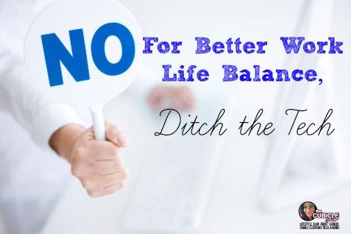 Vlog For Better Work Life Balance, Ditch the Tech