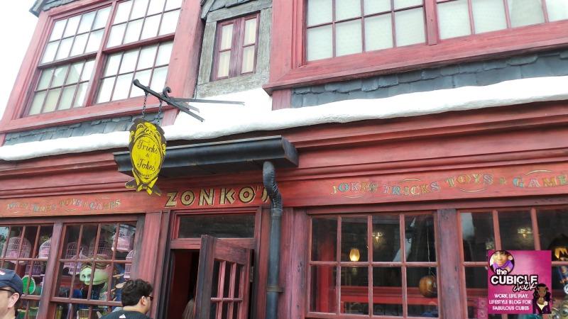 Zonko's Tricks and Jokes Hogsmeade Universal Studios
