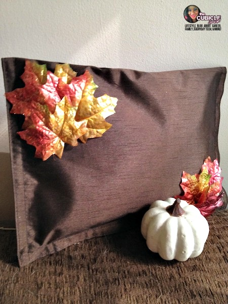 DIY Frugal Fall No Sew Pillow
