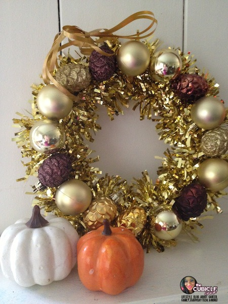 Dollar Tree DIY: Frugal Fall Wreath
