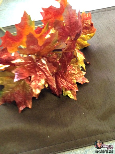 Frugal Fall No Sew Pillow