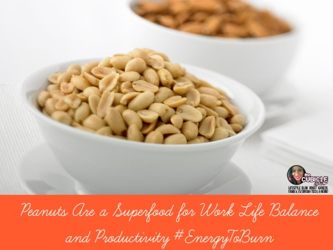 Peanuts Are a Superfood for Work Life Balance and Productivity
