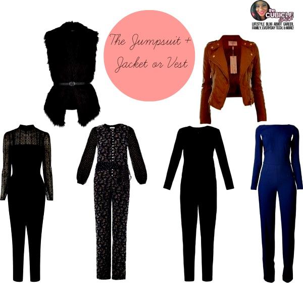 The Jumpsuit + Jacket or Vest