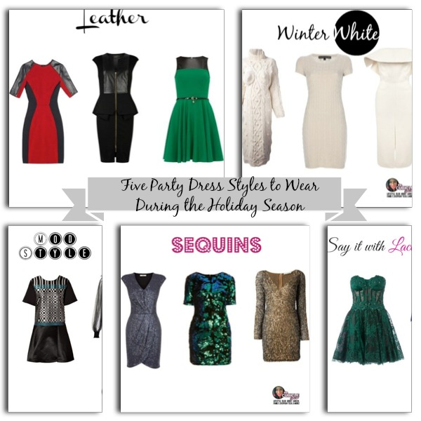 Five Party Dress Styles to Wear During the Holiday Season