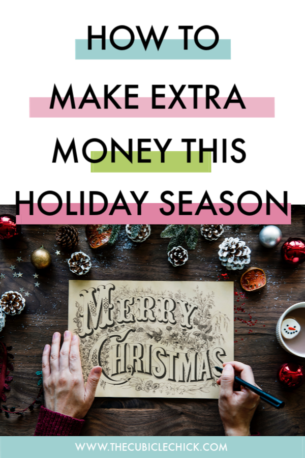 The holiday season is upon us. But if you need to make some extra cash, check out my list of Five Ways to Make Some Extra Money During the Holiday Season.