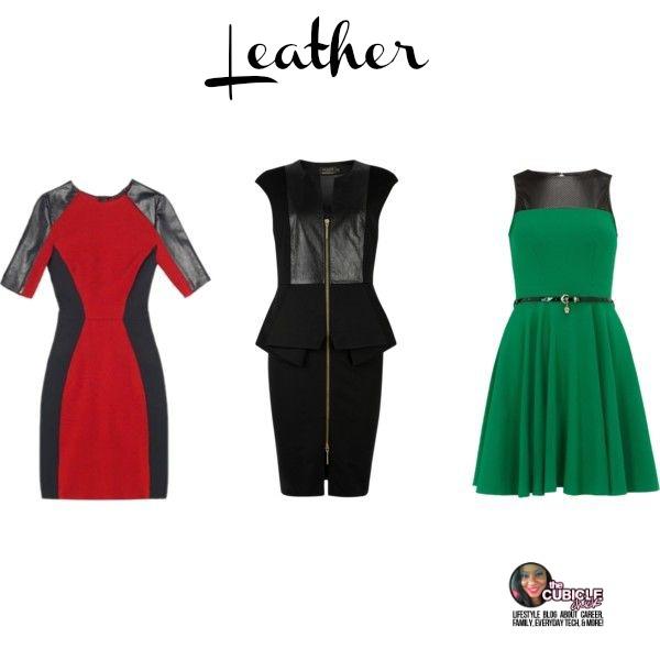 Leather Dresses Your Stylist Karen