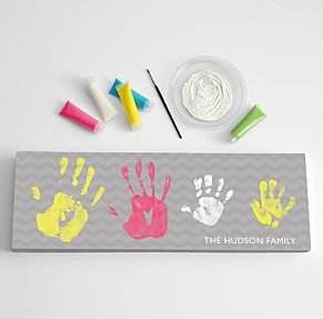 Large Handprint Canvas