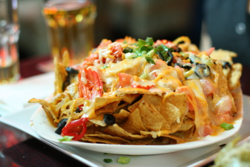 A Little Help for the Holidays from Kraft: Holiday Fiesta Nachos