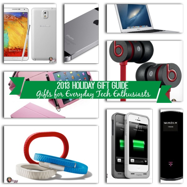 2013 Holiday Gift Guide Gifts for Everyday Tech Enthusiasts