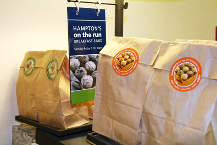 Make Your Holiday Hospitality Bright With Hampton Hotels Holiday Program