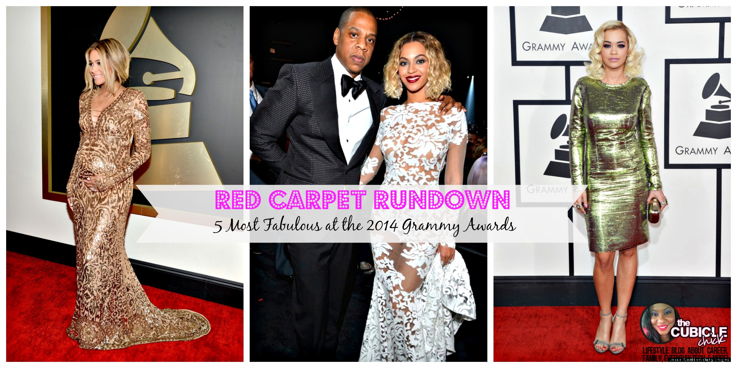 Red Carpet Rundown: 5 Most Fabulous at the 2014 Grammy Awards