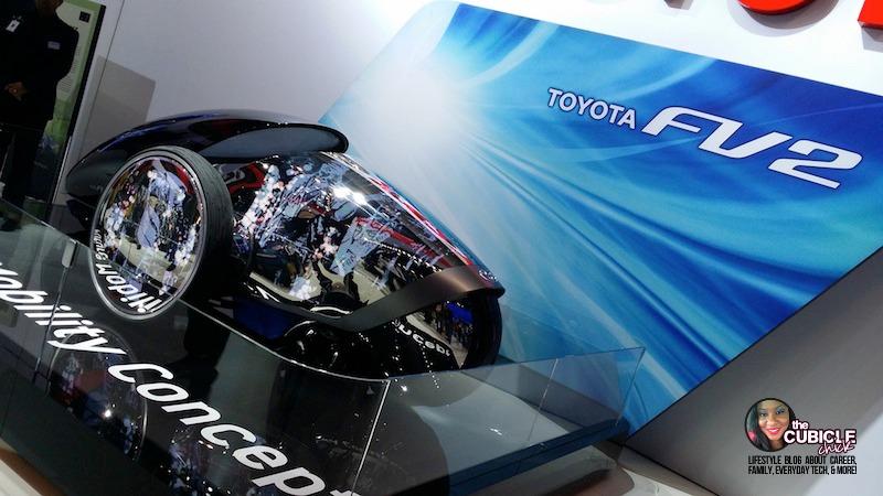 Toyota FV2 Mobility Concept Car