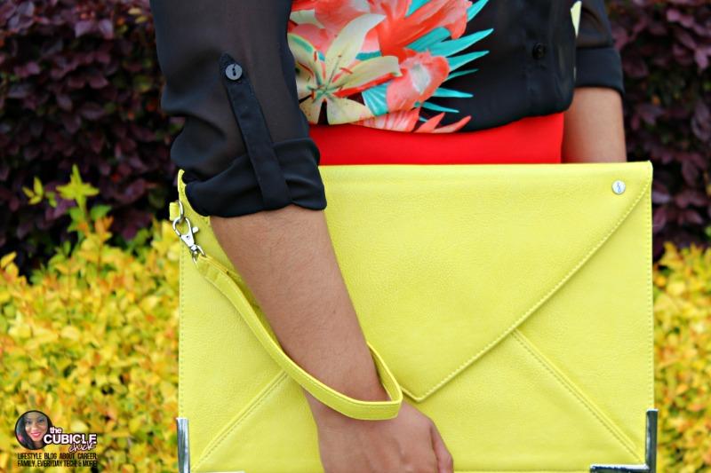 Your Stylist Karen Yellow Clutch ProFlowers