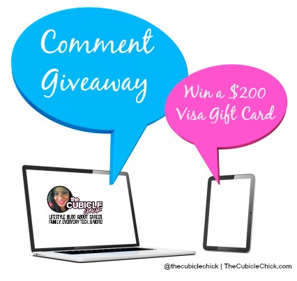 Comment Giveaway