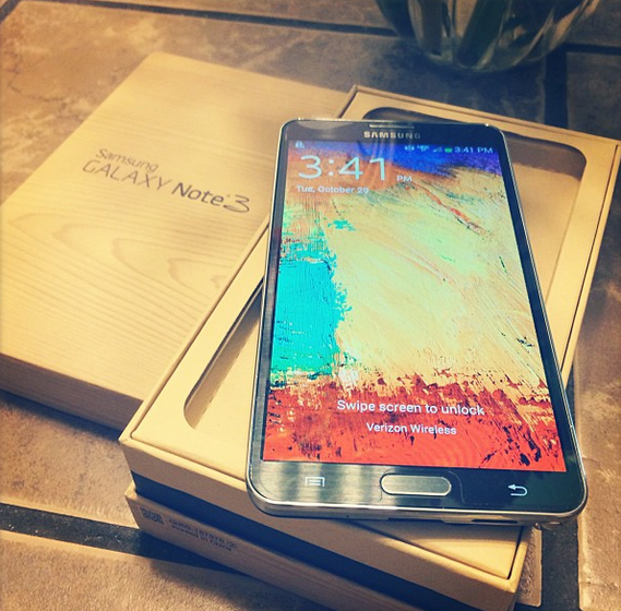How Did the Samsung Galaxy Note 3 Measure Up at #CES2014?