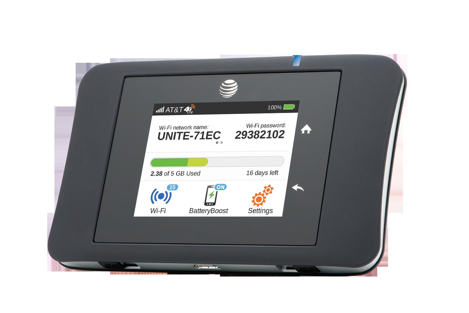 Digital Lifestyle: AT&T Unite Pro Wifi Hotspot by NETGEAR