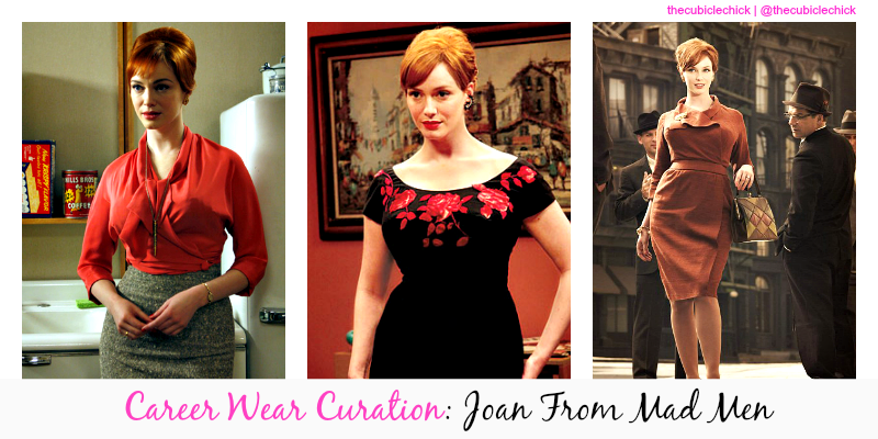 Career Wear Curation Joan From Mad Men