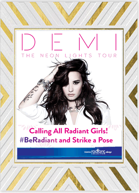 Demi Lovato The Neon Lights Tour