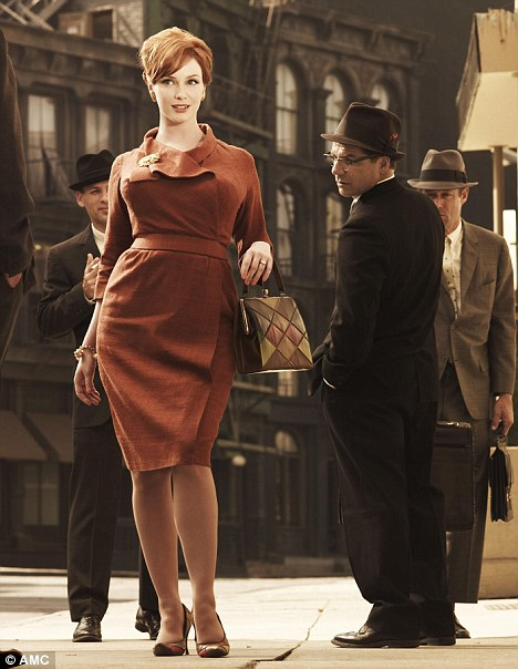 Joan From Mad Men Fashion