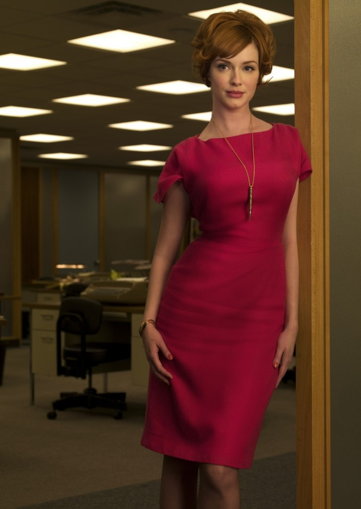 Joan From Mad Men Shift Dress