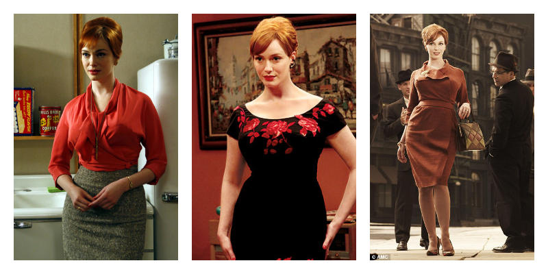 Career Wear Curation: Joan From Mad Men