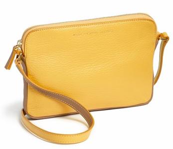 'Sophisticato - Dani' Leather Crossbody Bag