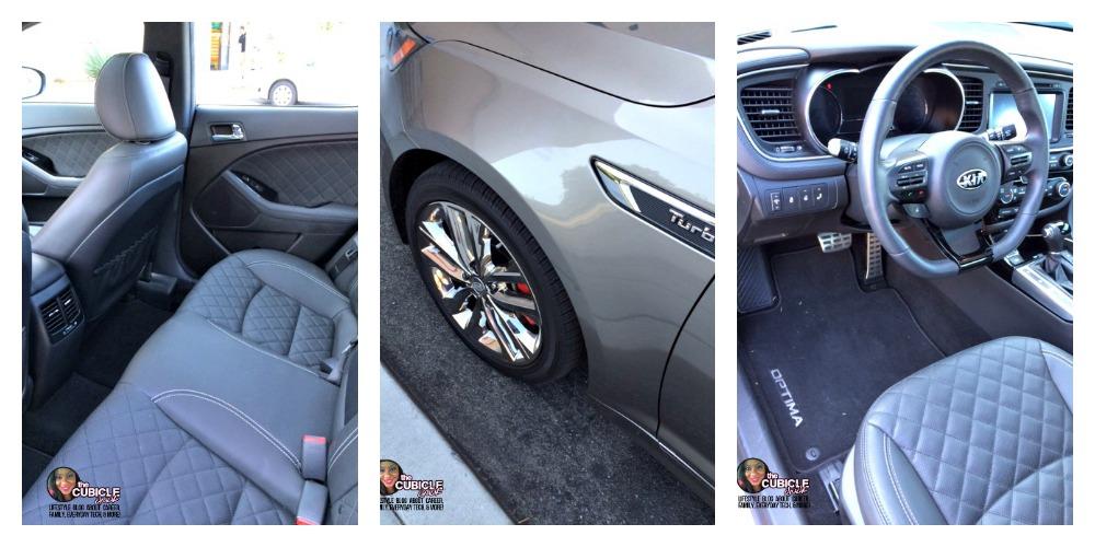 2014 Kia Optima SX Limited Collage