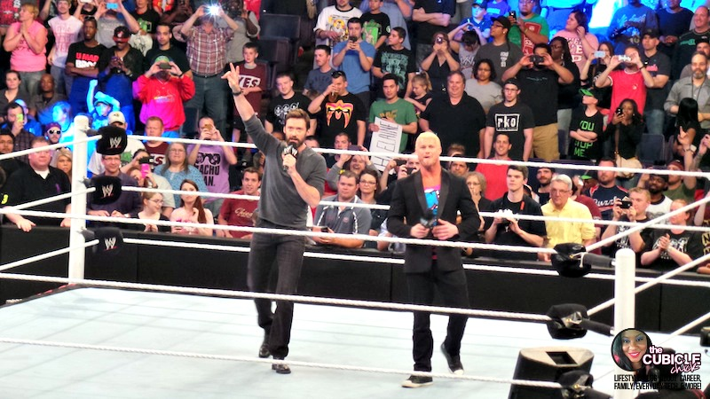 Hugh Jackman Monday Night Raw