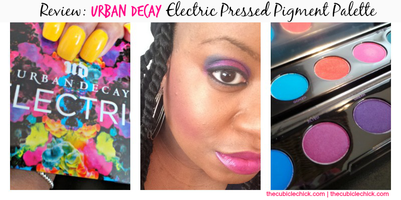 Review Urban Decay Electric Pressed Pigment Palette