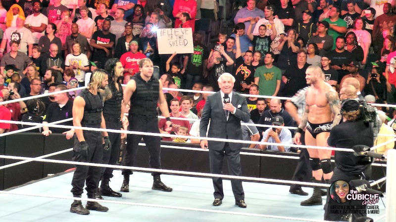 Ric Flair WWE Monday Night Raw