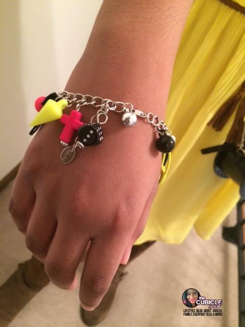 Tween Fashion Plate Bracelet