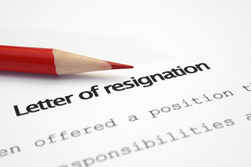 The Art of Resigning and Giving Two Weeks' Notice