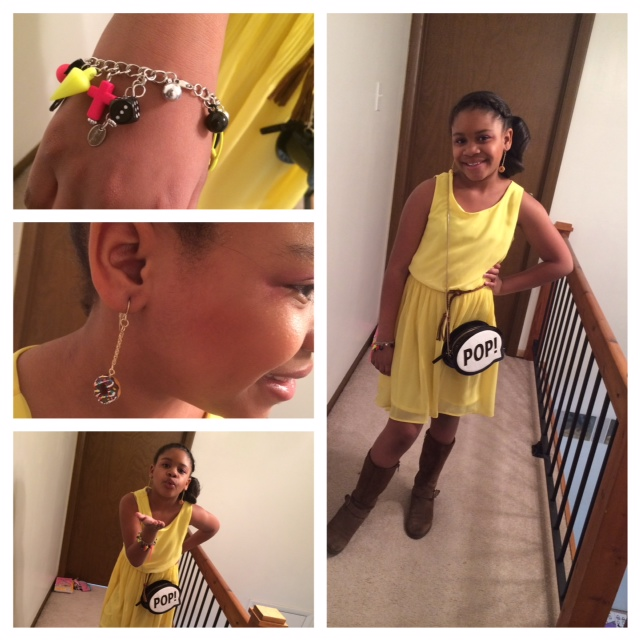 Tween Fashion Plate: The Chicklet in Mellow Yellow