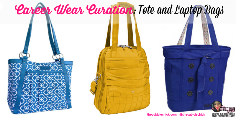 Career Wear Curation Tote and Laptop Bags