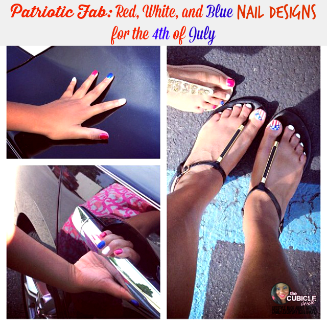 Patriotic Fab Red, White, and Blue Nail Designs for the 4th of July
