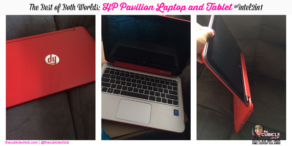 The Best of Both Worlds HP Pavilion Laptop and Tablet #Intel2in1