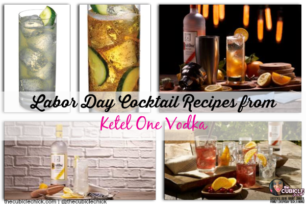 Labor Day Cocktail Recipes from Ketel One Vodka