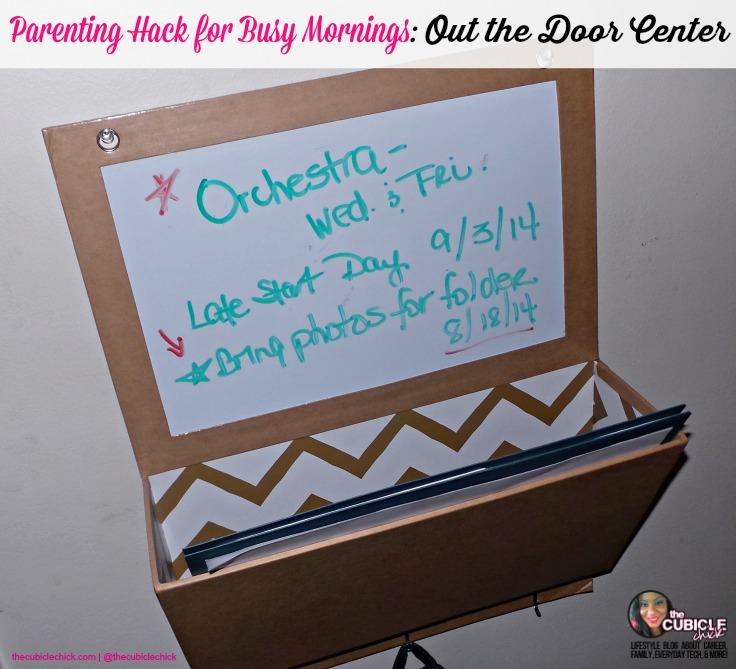 Parenting Hack for Busy Mornings Out the Door Center