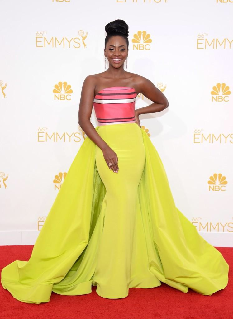 Teyonah Parris Dress 2014 Emmys